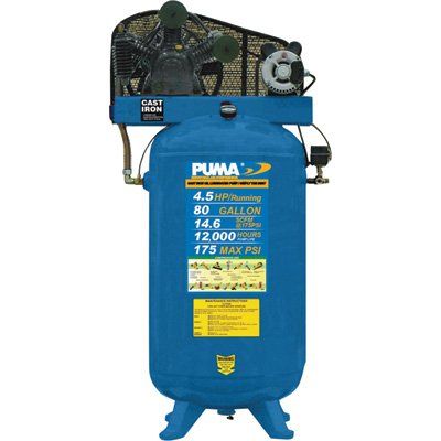 Puma Industrial Air Compressor - TE6580V